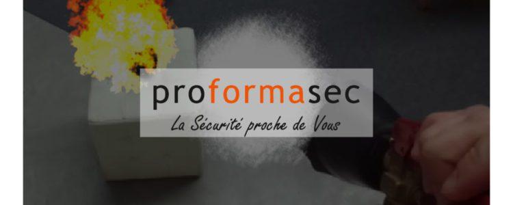 Proformasec – Formation sécurité incendie